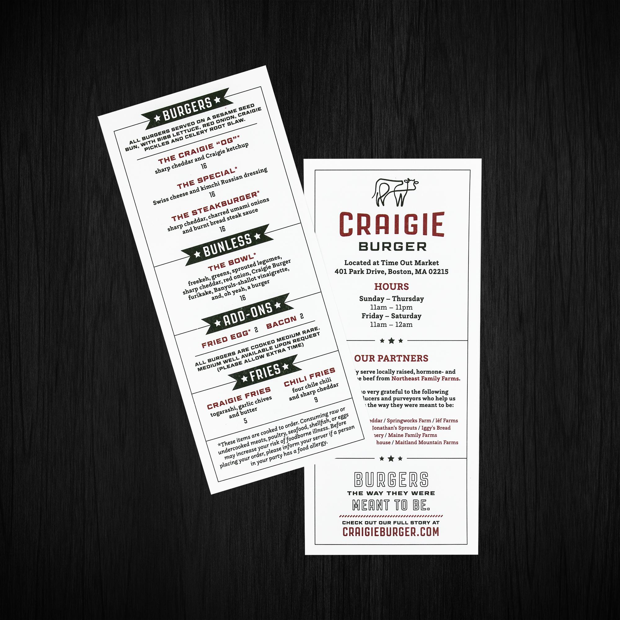 Creative Katz / Craigie Burger