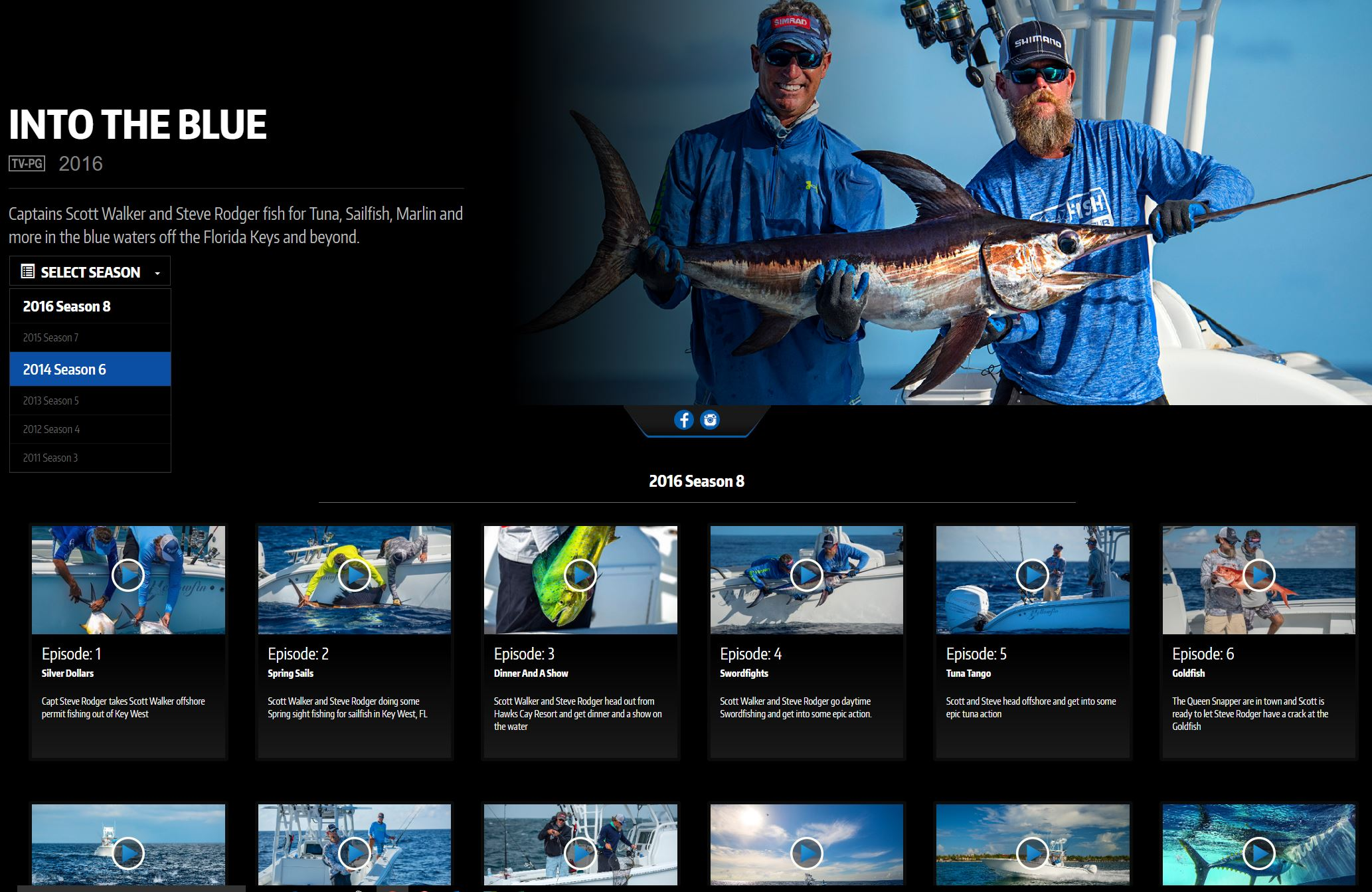 Watch full length episodes of Into the Blue on Waypoint TV