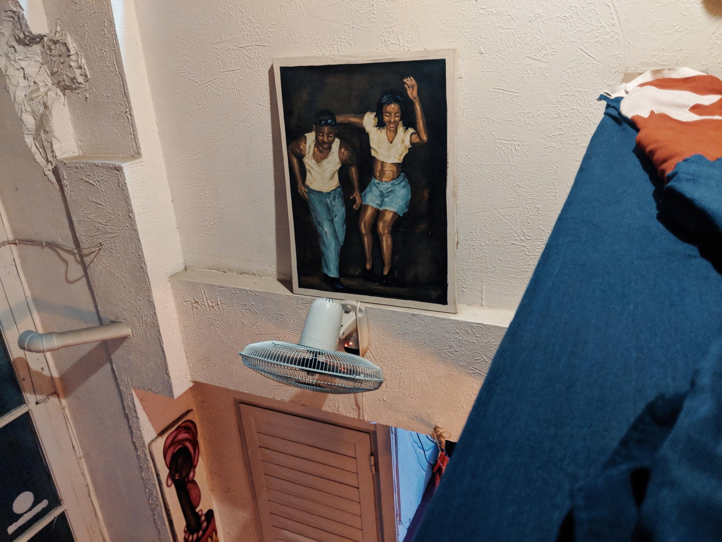 A dance school in Havana, Cuba
