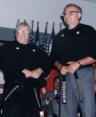 In 1994, Grandmaster Tracy and Senior Grandmaster Lee were the only two known tenth degree black belts in Chinese Kenpo.