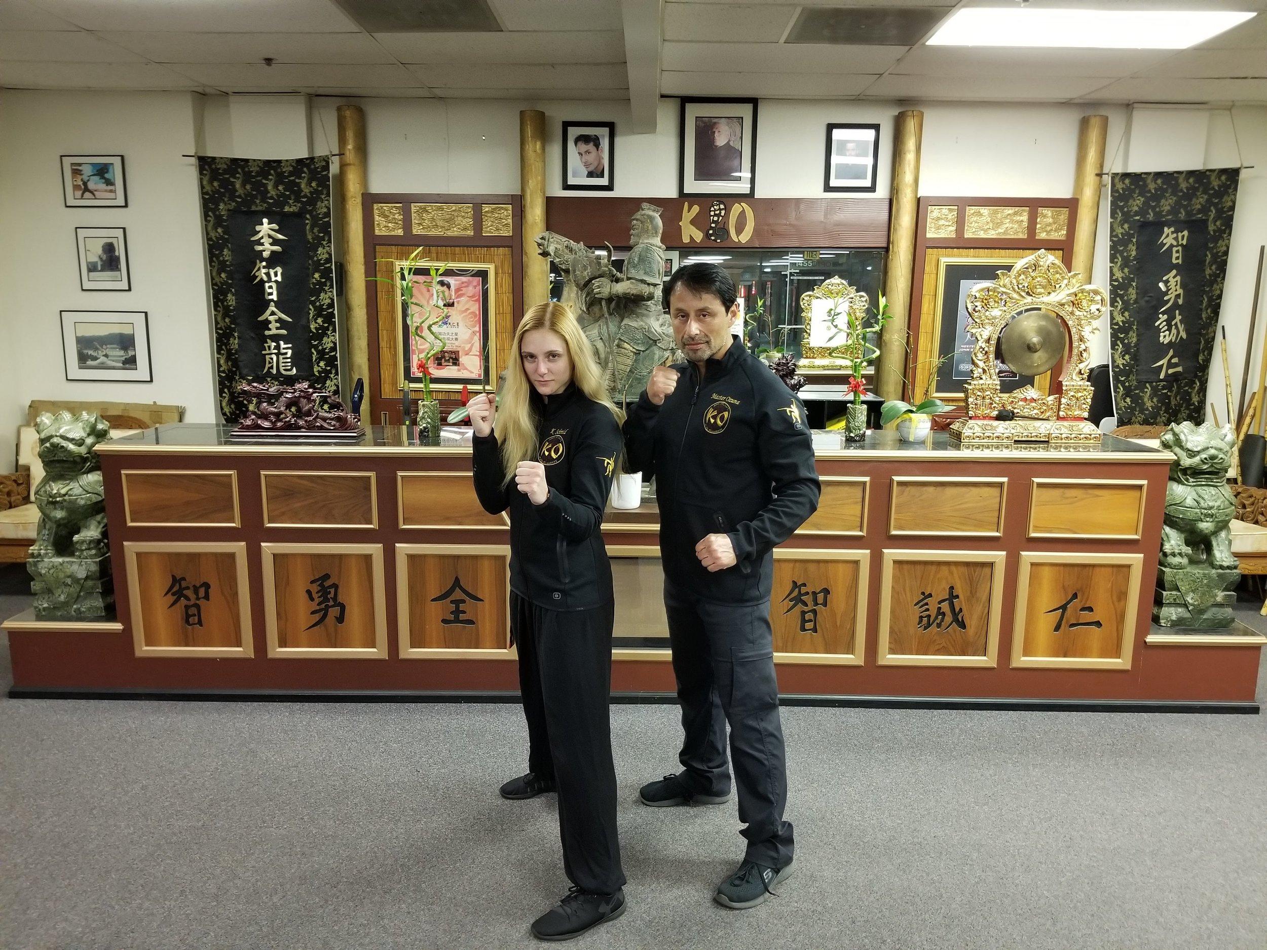 Master John Ozuna and Katie Schmid