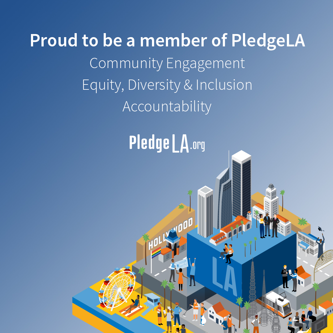 We'll never solve the diversity crisis in tech if we don't start investing in long-term solutions. We've joined #PledgeLA ( pledgela.org ) because we understand that if we engage communities now, we can build a bright and inclusive #future for tech.