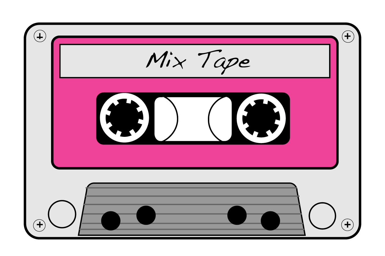 I do realize there are some readers (youngsters)out there in Blog Land who have no idea what this is. ;) Who remembers this? Do you remember being tempted to pull the shiny, black tape? If you actuallydid it, you paid the price by having to take a pencil and spin that %$^$#back into the cassette. Consequences....