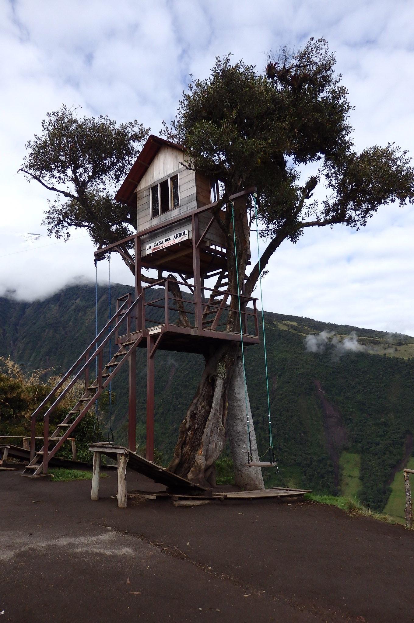 1. Spend more time outside, climb mountains, swim in rivers - Banos, Ecuador