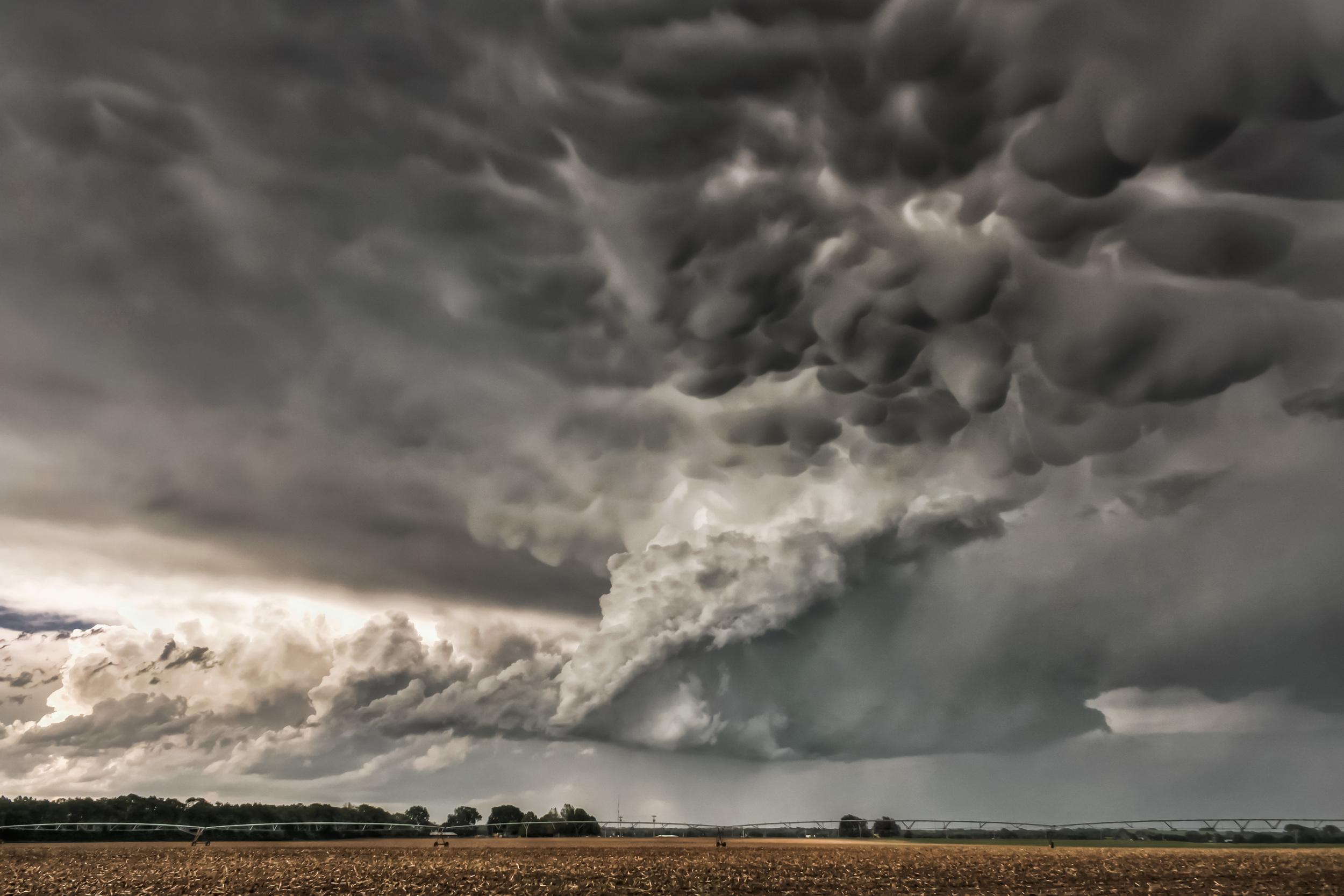 Supercell near Topeka, Kansas on May 21, 2011