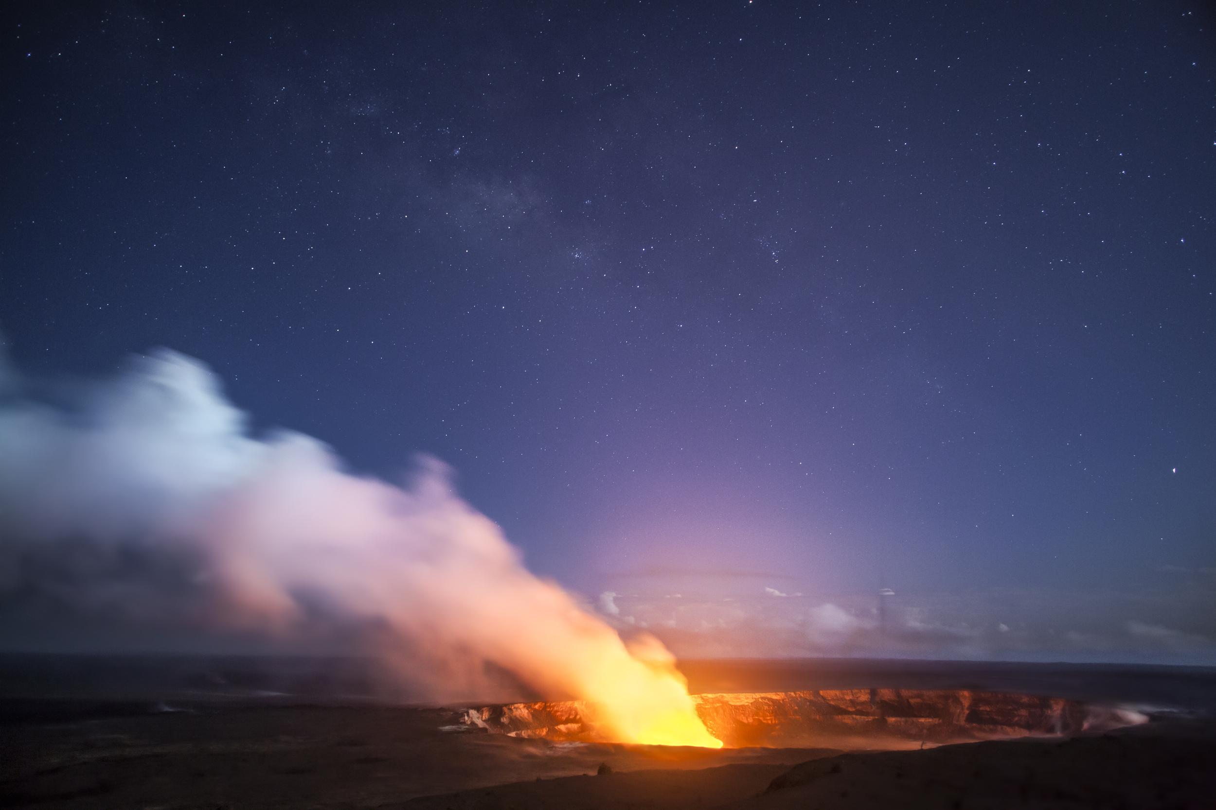 Kilauea caldera. Big Island, Hawaii