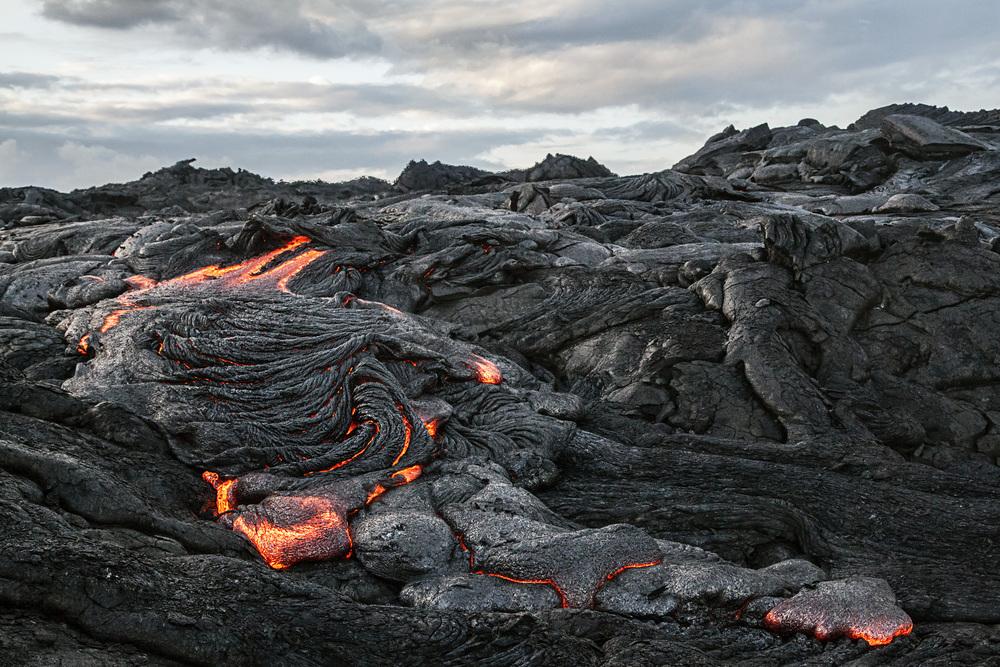 volcano lava flow earth stock video hawaii iceland