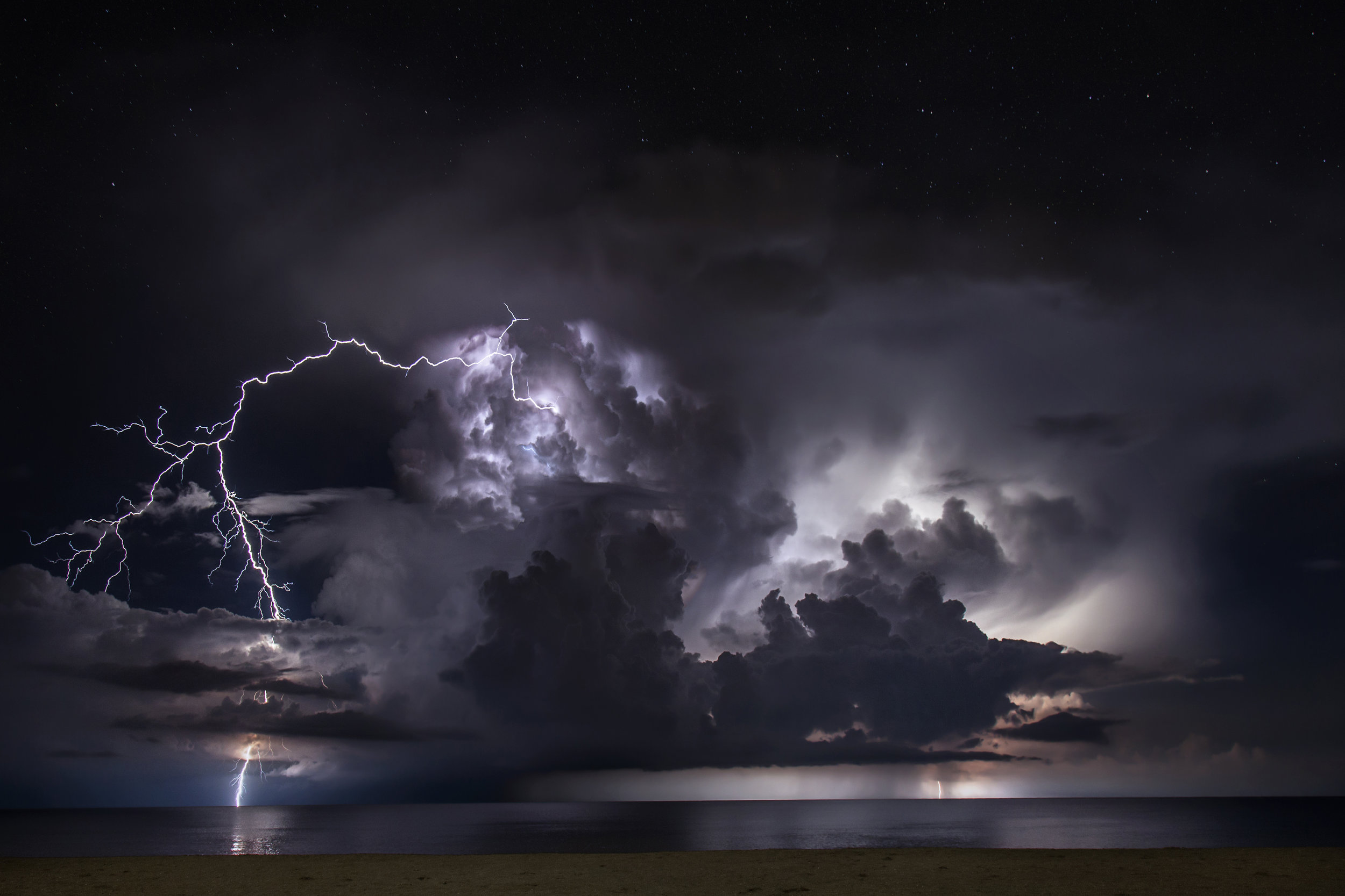 lightning stock video photography footage clip