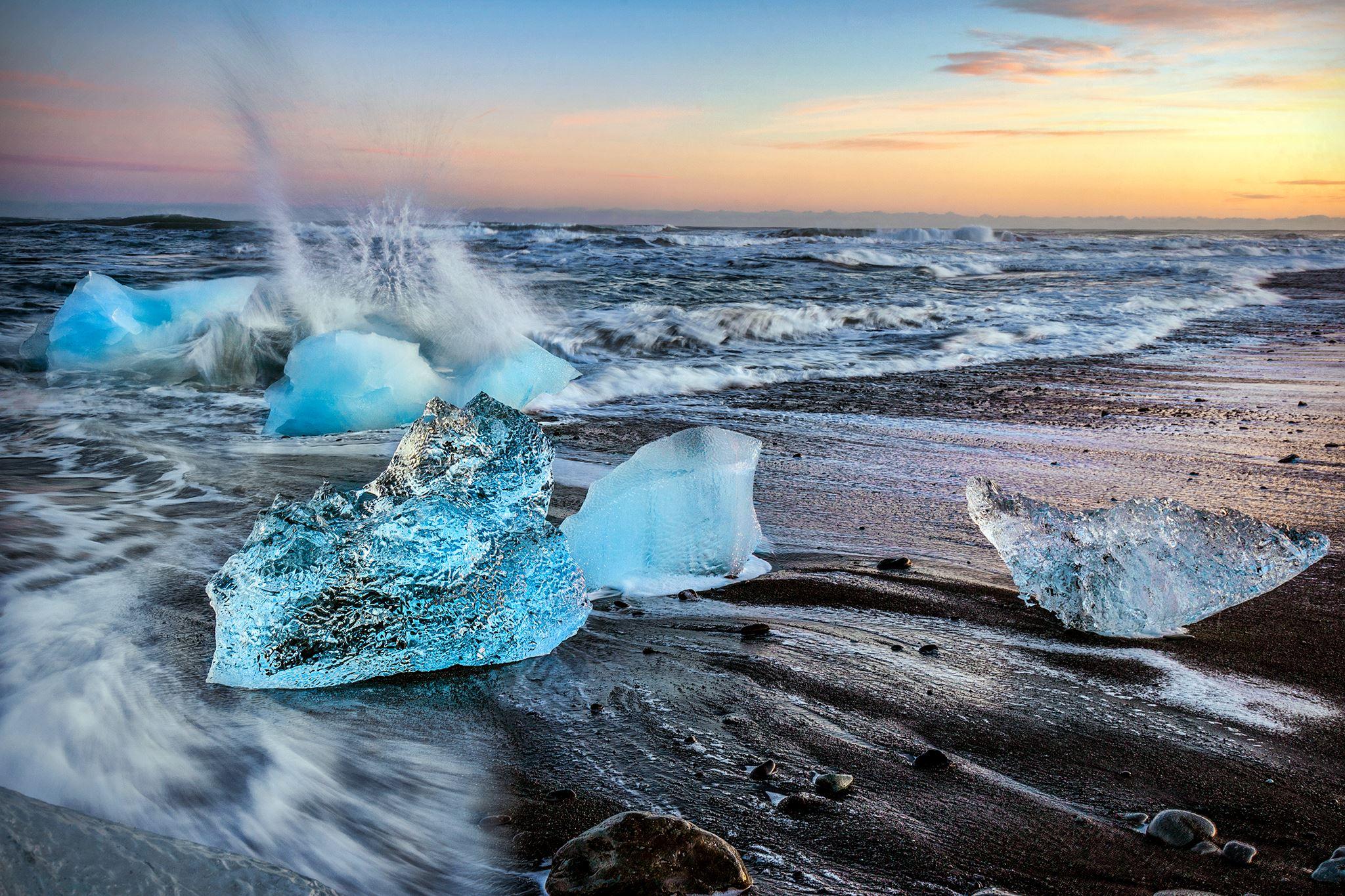 iceland photography workshop diamond beach
