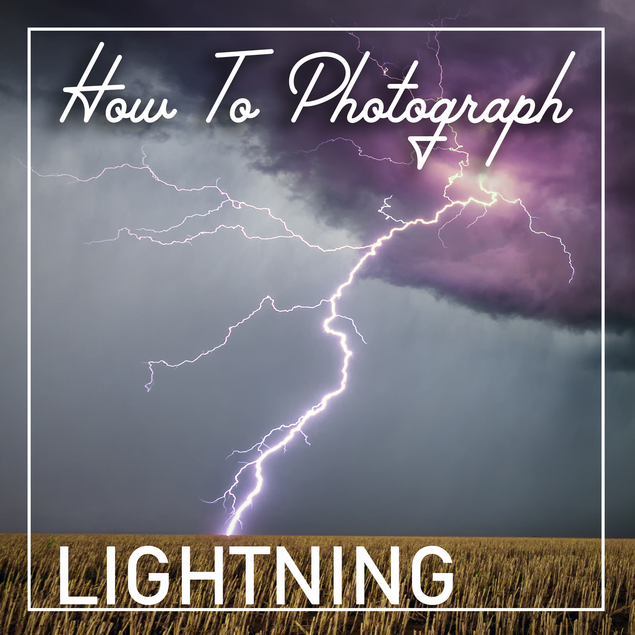 how to photograph take pictures capture lightning lightening