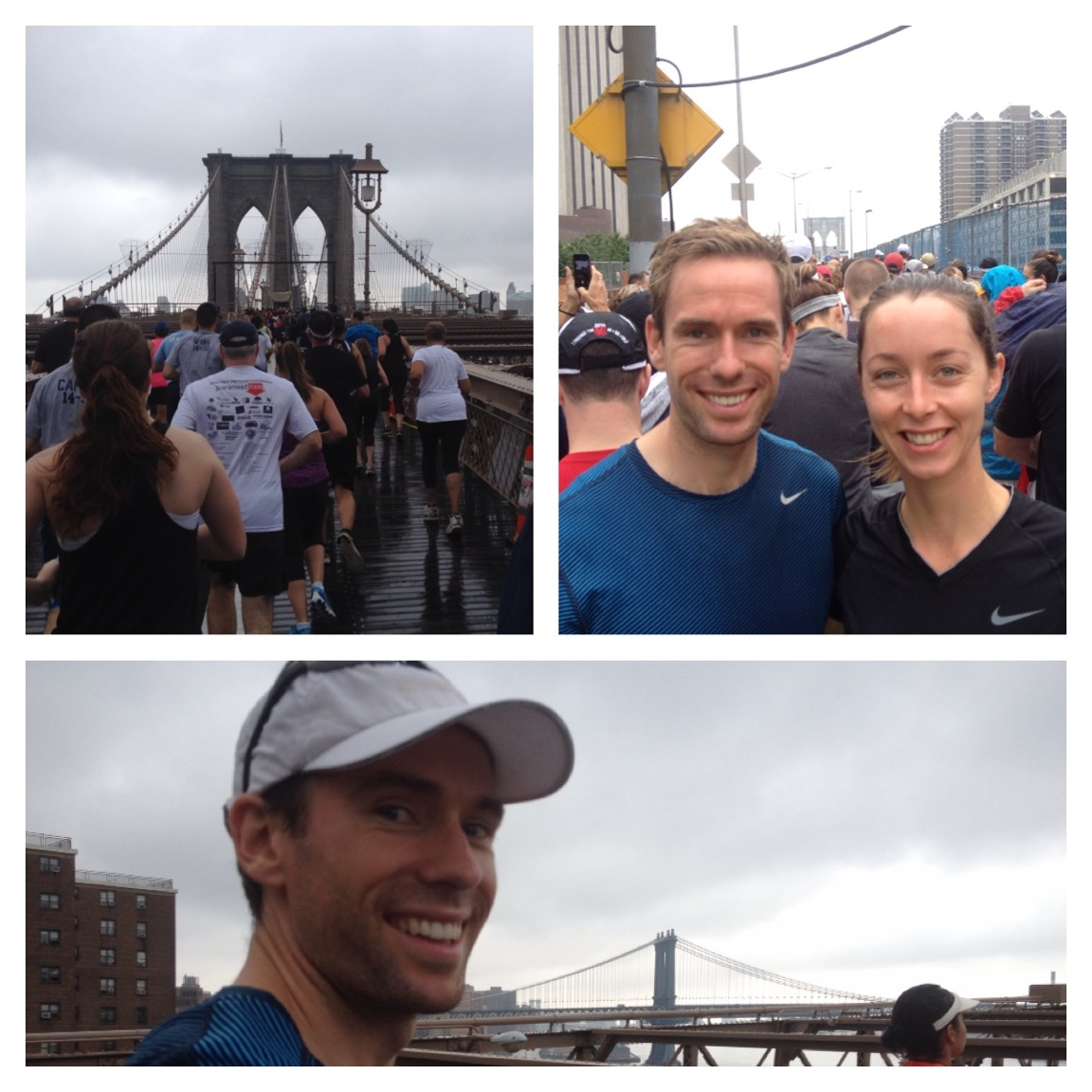 Johnny & Becca visiting new york - both awesome regulars at the group sessions in centennial park