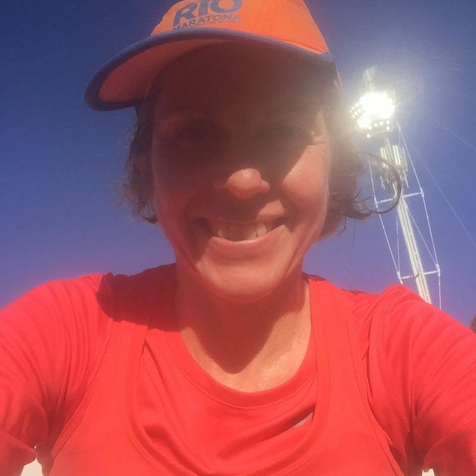 Jo Hadley - NIke Half Marathon pb 1.43 and would you believe she's 50!!