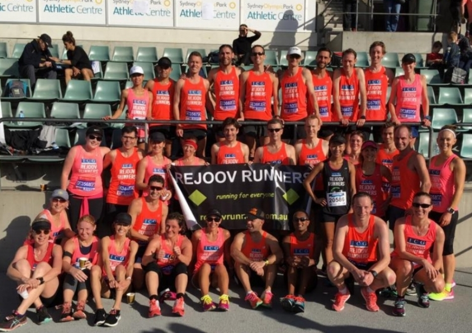 Sydney 10 2017 record turn out of rejoov athletics nsw members after just 5 months of affiliation - everyone was fired up and had a great time together.