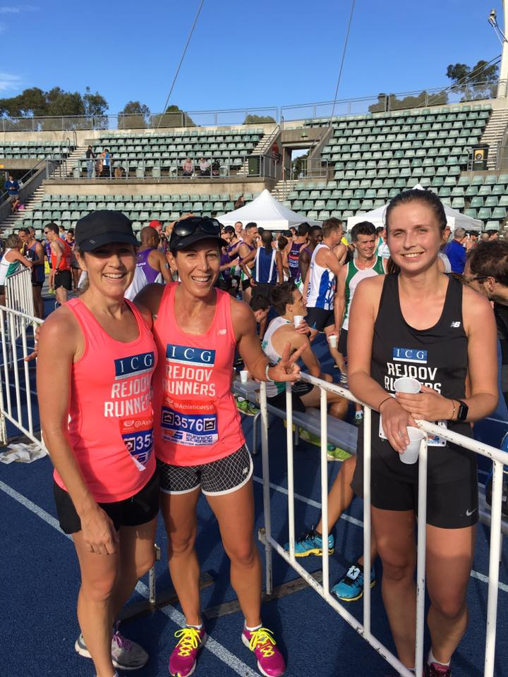 Kate Agnew, Hayley Kain & Lucy Stranger - awesome runs girls!