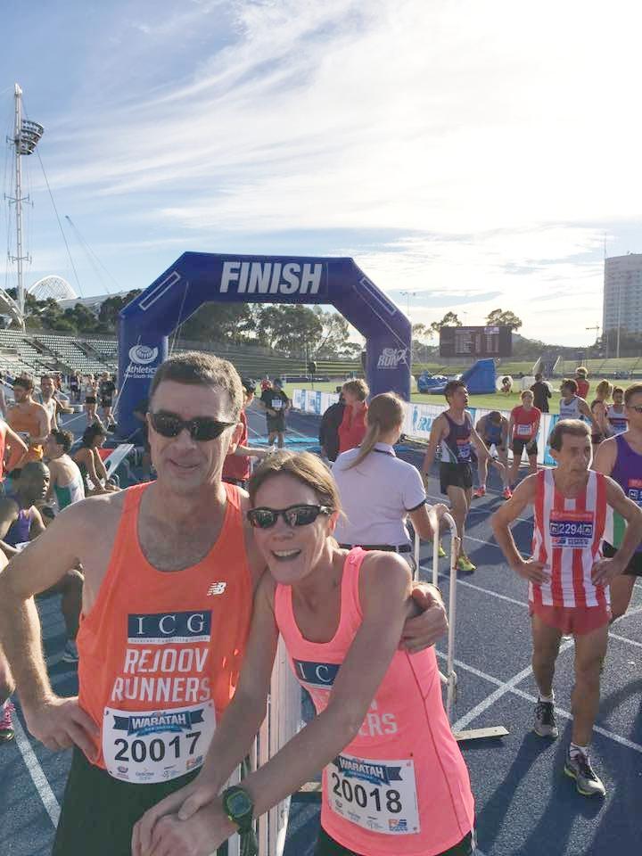 Husband & wife Pete & Melanie Truscott - what a great pair!
