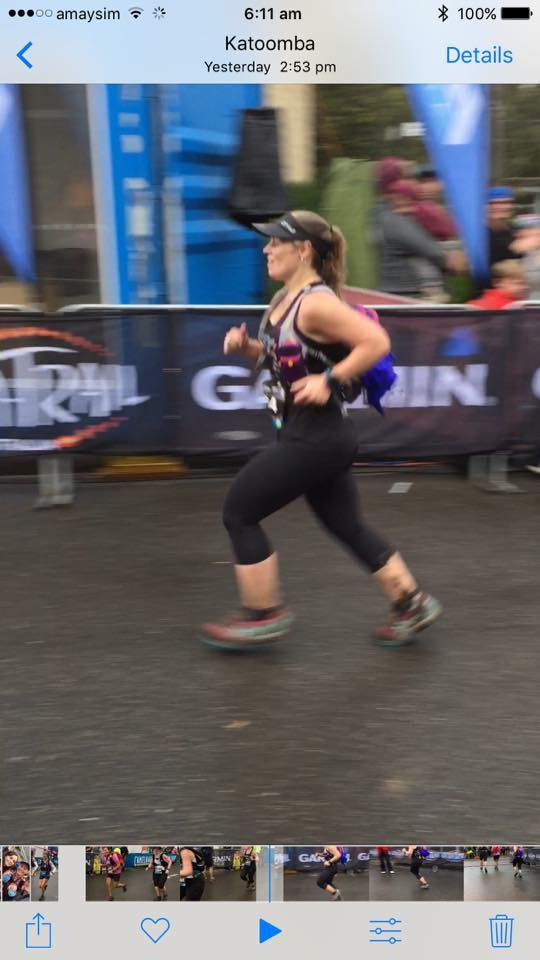 Awesome effort tracey hind - online runner - love your work - uta 22k finish yay