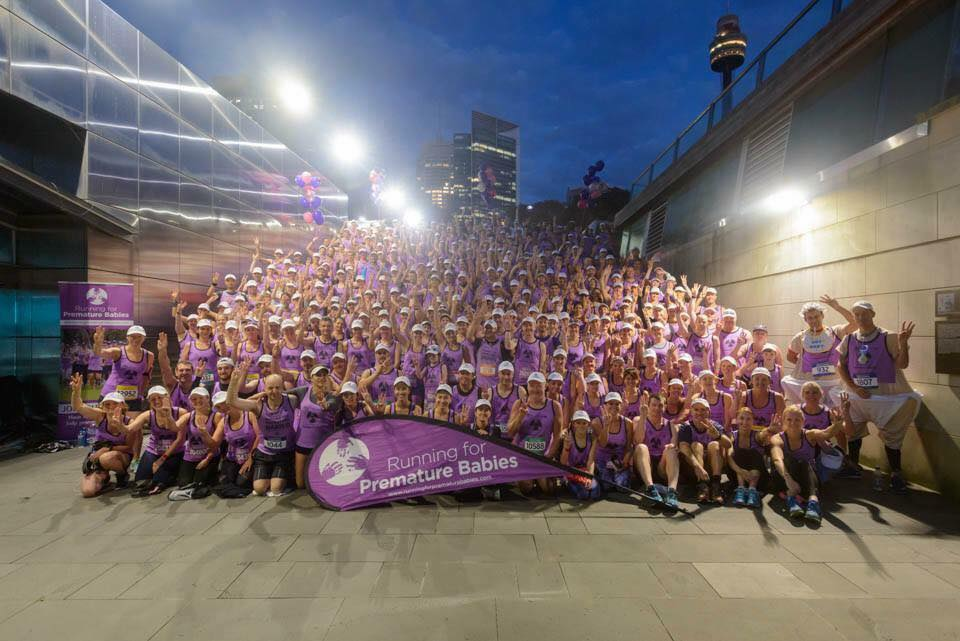 Premmie babies pre-race pic 2017 with over 500 runners in their 11th year - congratulations sophie cotton smith and team