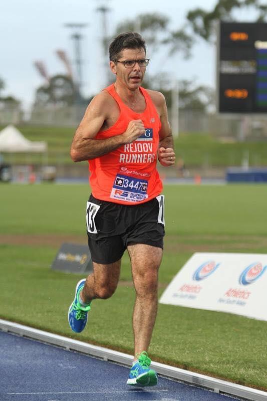 Matt wacher feb 2017 track 5000m ANSW champs