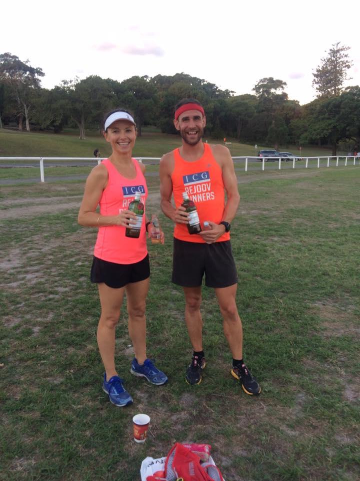 March 2018 winners Sarah Bembrink & Chris Strom