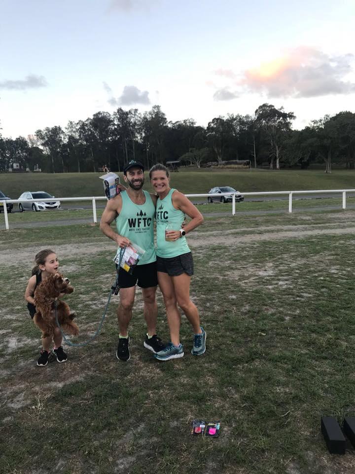 2017-18 series winners Darren MacGregor & Rachael honeywood