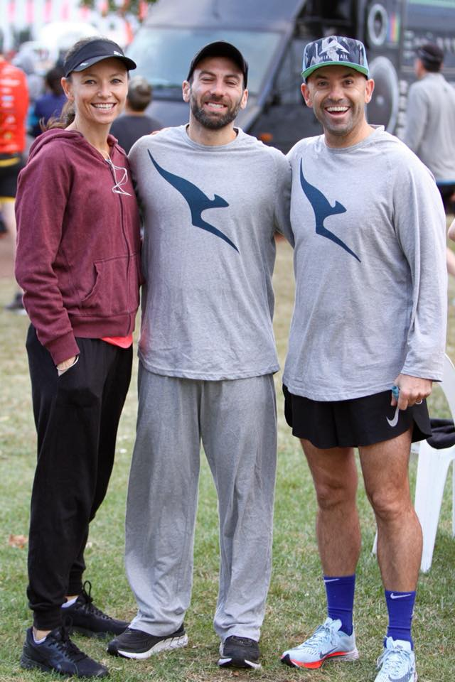 Pyjama party or the start of the Canberra Australian Running Festival ?
