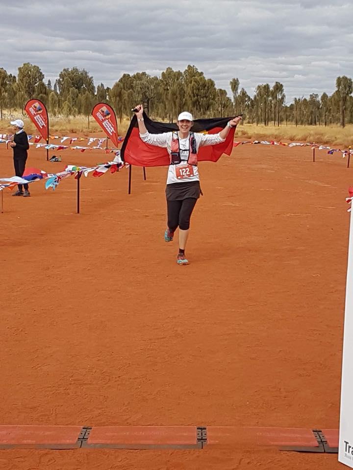 Congrats Lisa Charles on 3rd marathon this year!! (Canberra, UTA 50k & now Outback Marathon)