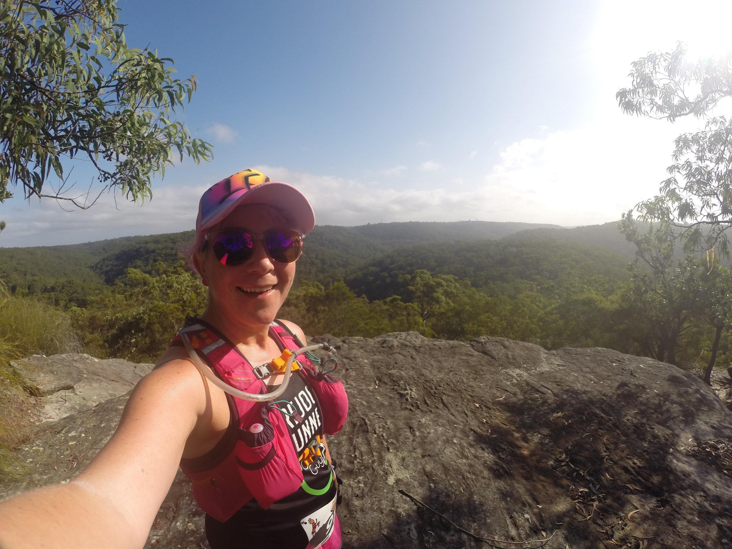 Lesley Mason Galston Gutbuster trail event