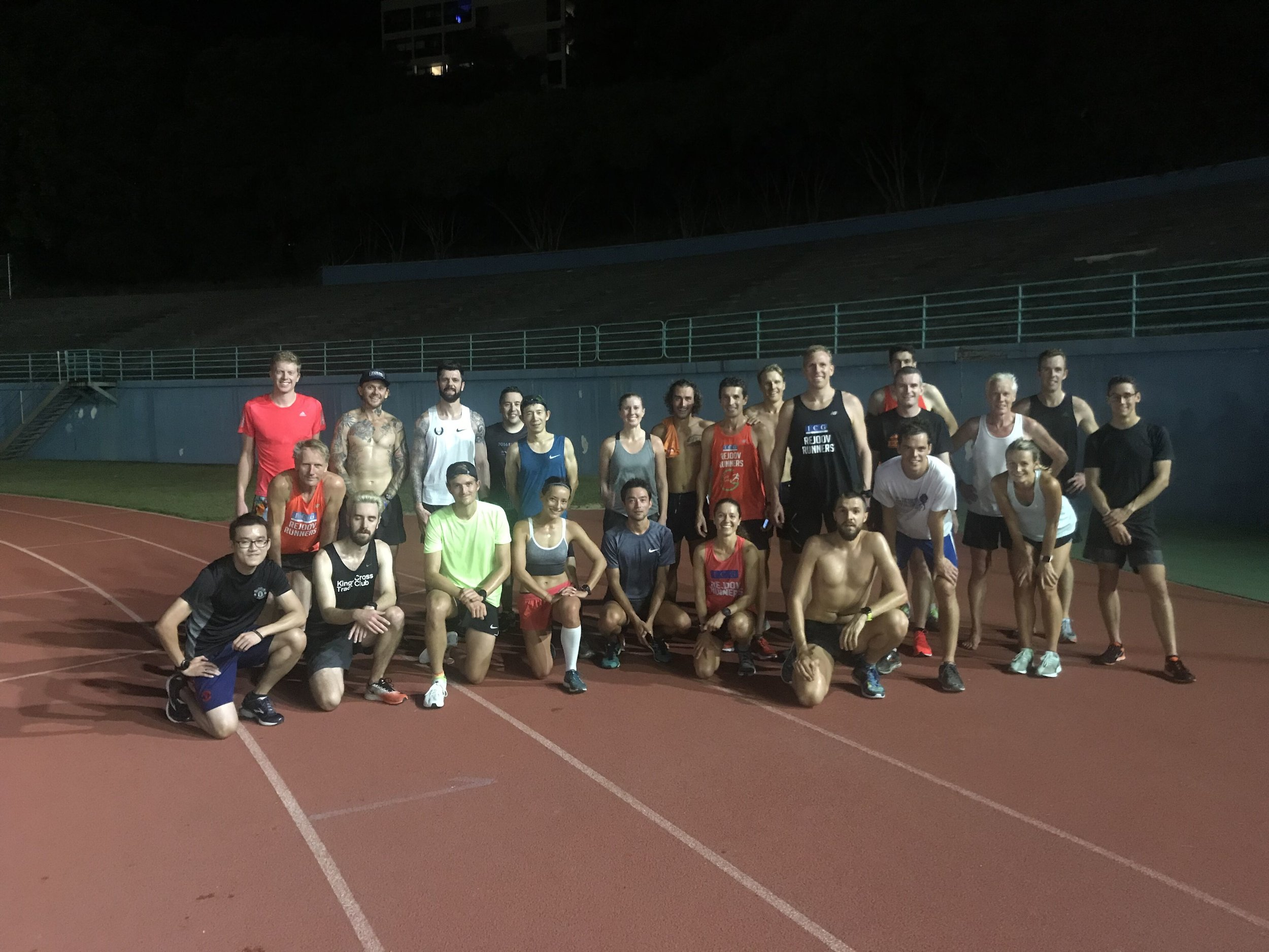 Track time trial 24th april 2019 awesome turn out and results