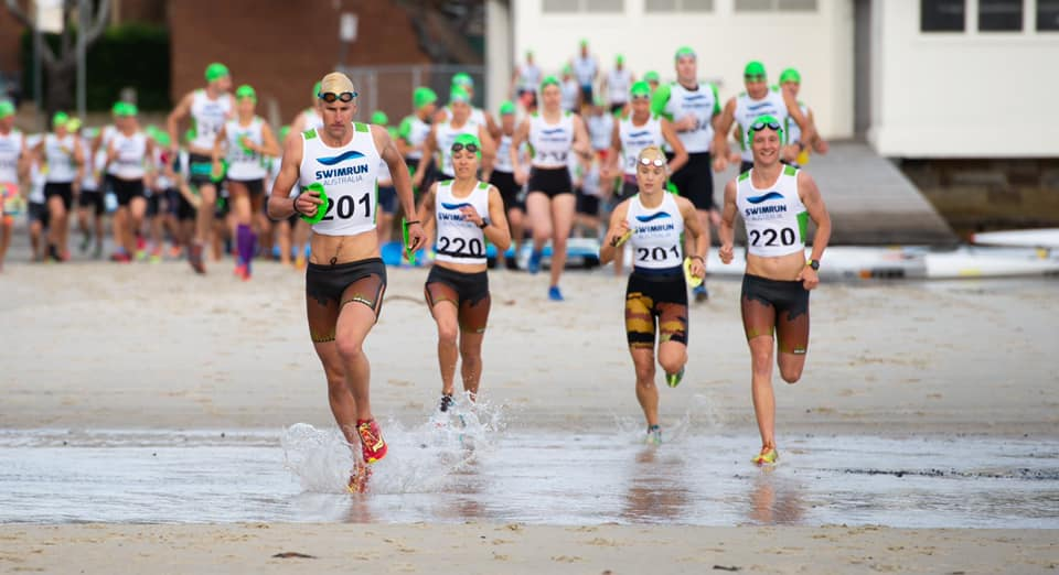 Swim Run Australia mixed teams start 2019