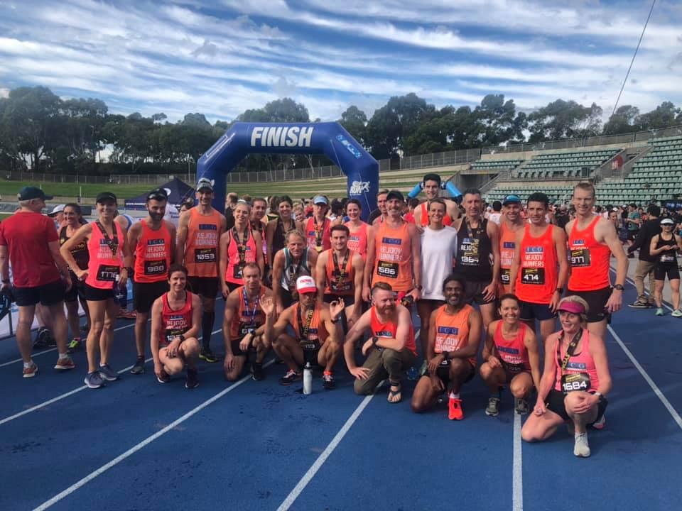 Sydney 10k 2019 the gang!!