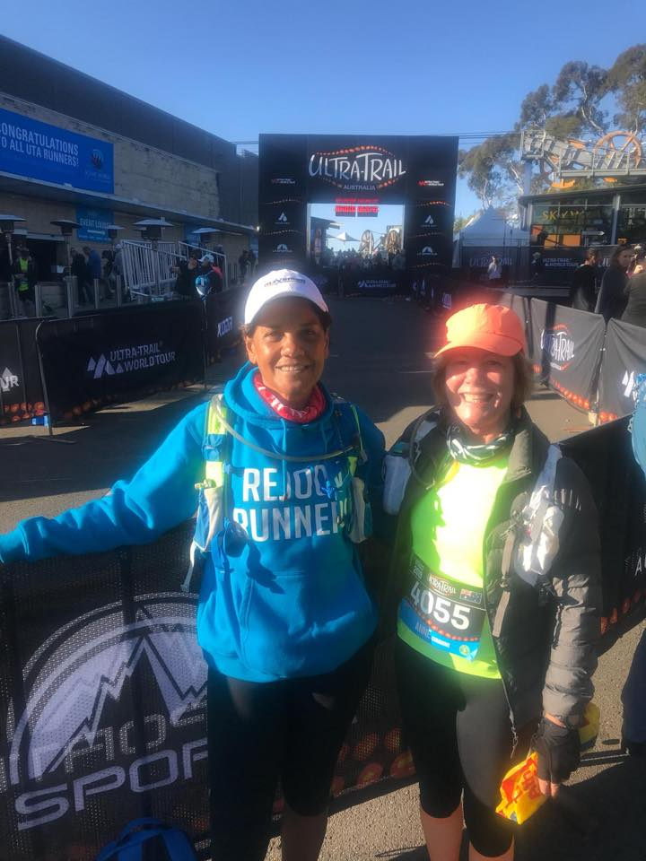 Jacqui and anne in the 22k UTA. Congrats anne cumming 2nd in her age group