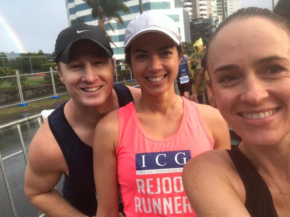 Congrats lucas deb and jess on their GC marathons