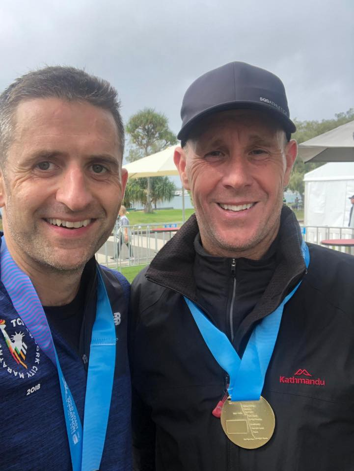 Enda stankard 2.54 and john clother 3.01 marathons well done boyz - coached online by CT