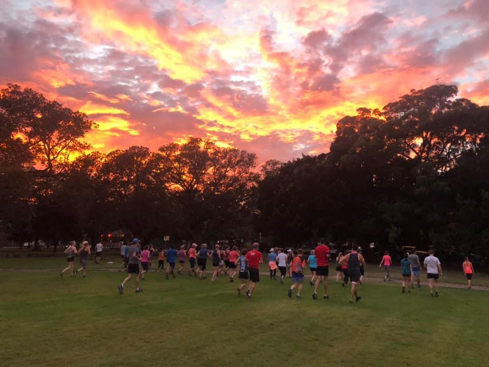 Brilliant sunrise May 2019 thursday morning session warm up