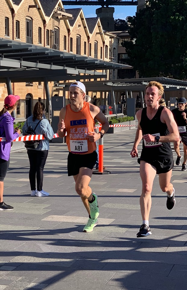 Gus Rutherford debut Sydney Harbour 10k
