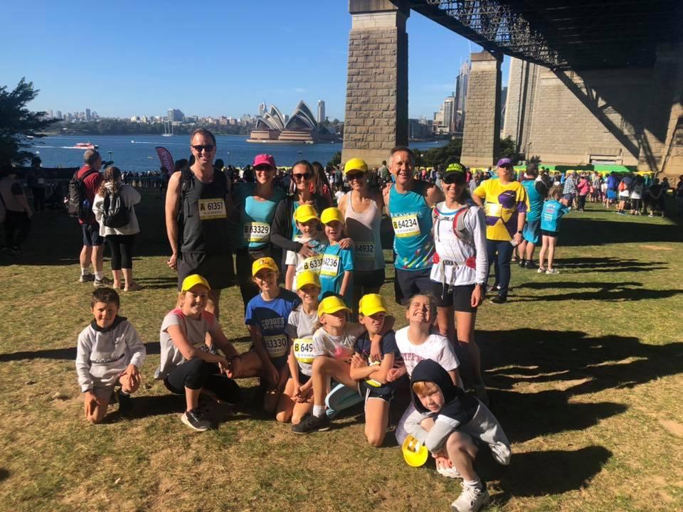 Blackmores 2019 kids fun run 3.5k across the bridge yay