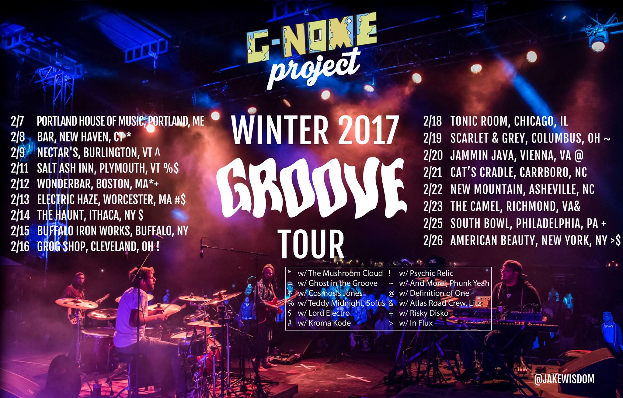 Check out the show details on our  tour page .