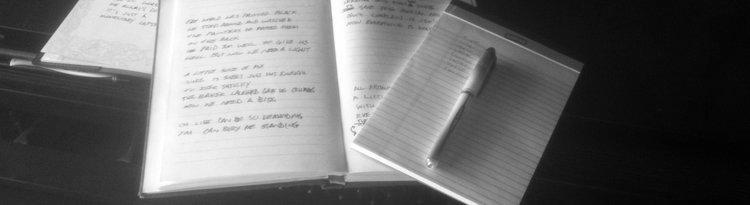 A.J.'s notebooks