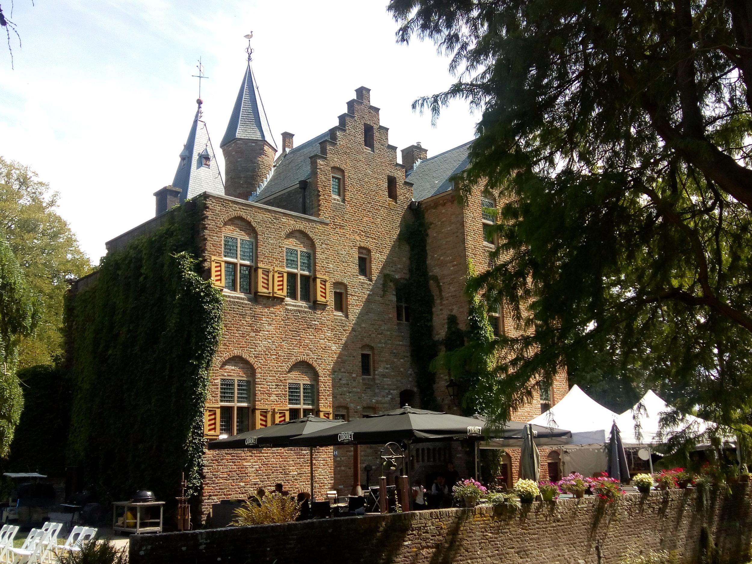 Schilderen in het Gooi, kasteel Sypesteyn