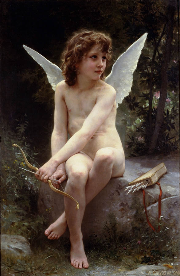 Option 3, Bouguereau, 'Cupid'