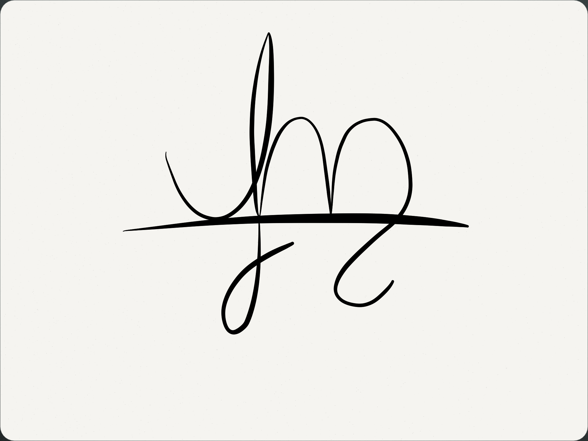 Real sigils have curves! Seriously though, my fascination with calligraphy played a small role.