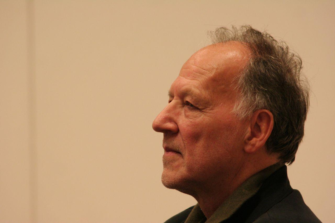 The filmmaker, Werner Herzog