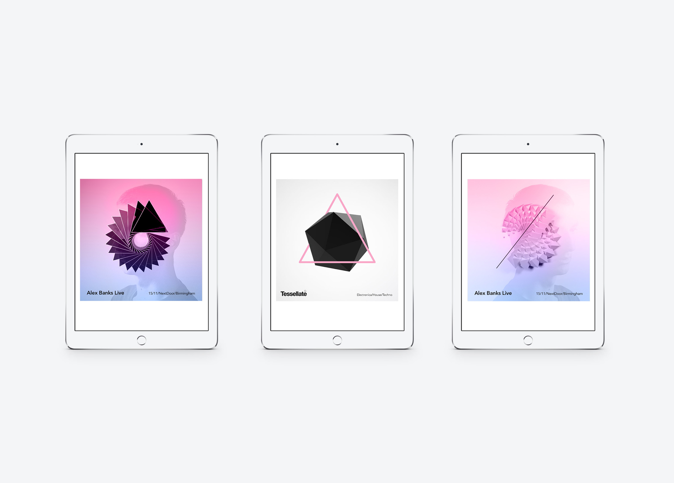 Tessellate - Brand / Online Collateral