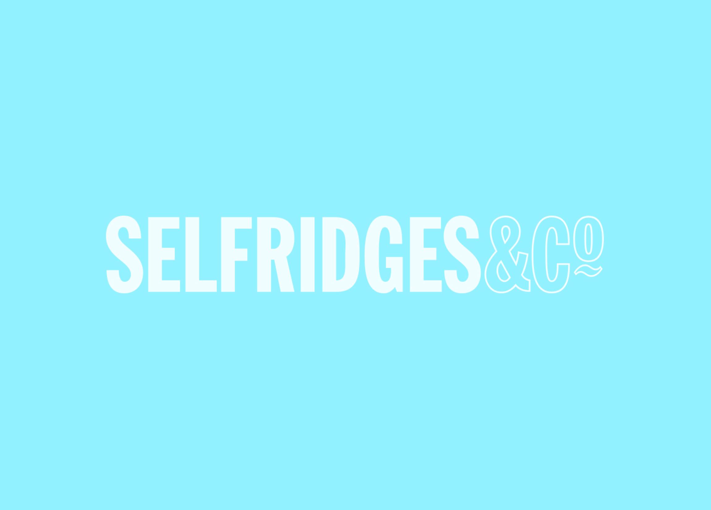 Selfridges - Project Ocean / Digital Marketing / Touch Window