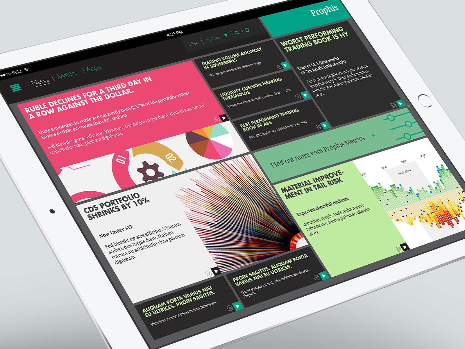 Prophis - UX/UI Design