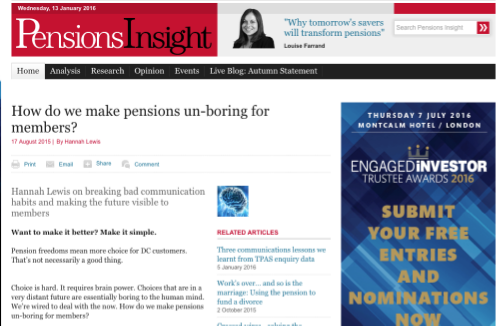 Pensions Insight