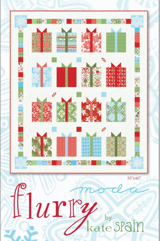 Flurry Quilt Pattern by Kate Spain