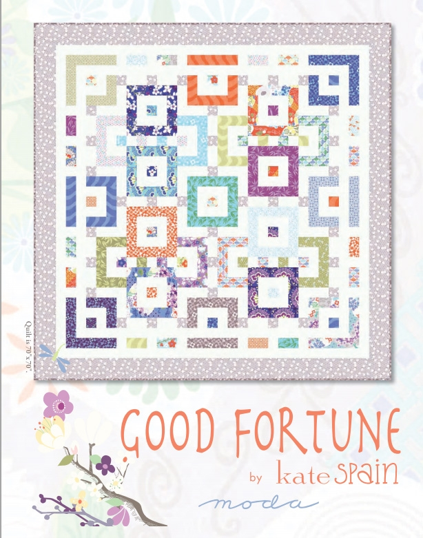 Good Fortune Quilt Pattern by Kate Spain
