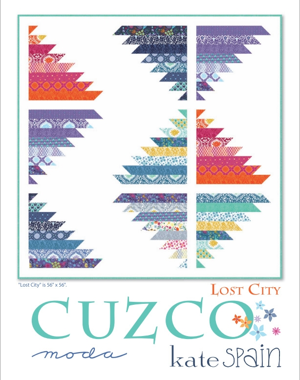 Cuzco Lost City Quilt Pattern by Kate Spain
