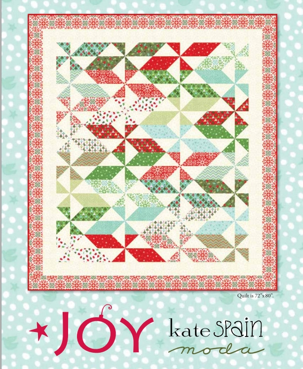 Joy Quilt Pattern by Kate Spain
